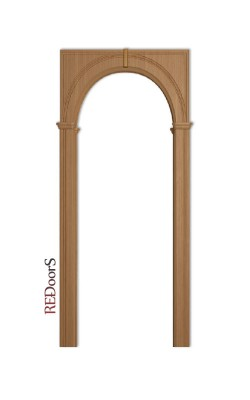 Межкомнатная арка Палермо, Дуб светлый