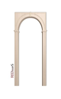 Межкомнатная арка Палермо, Беленый дуб