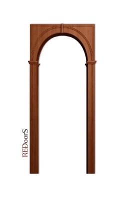 Межкомнатная арка Палермо, Итальянский орех