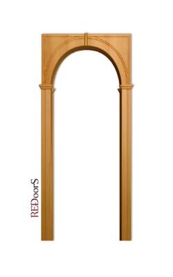 Межкомнатная арка Палермо, Миланский орех