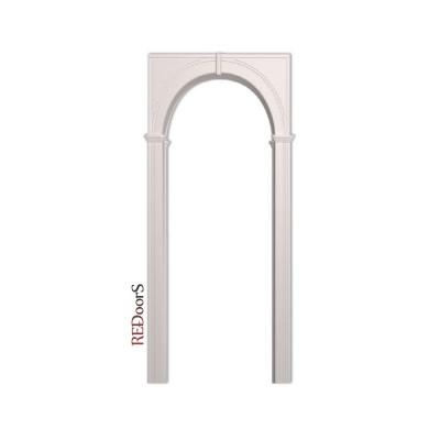 Межкомнатная арка Палермо, Белая эмаль