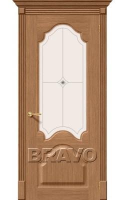 Межкомнатные двери Афина Ф-02 (Дуб)