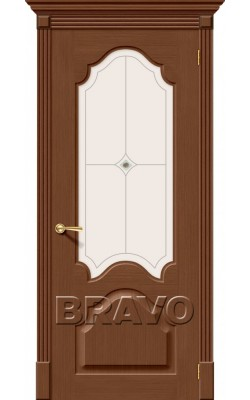 Межкомнатные двери Афина Ф-12 (Орех)