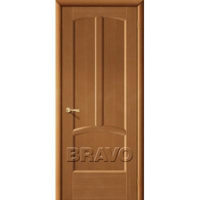 Межкомнатные двери Ветразь ПГ Ф-11 (Орех)