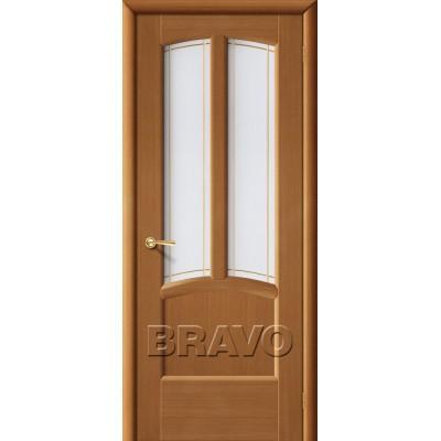 Межкомнатные двери Ветразь ПО Ф-11 (Орех)