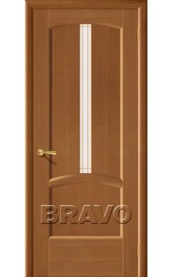 Межкомнатные двери Ветразь ПЧО Ф-11 (Орех)