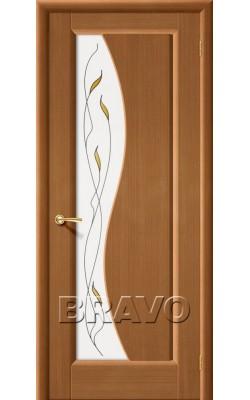 Межкомнатные двери Руссо Ф-11 (Орех)