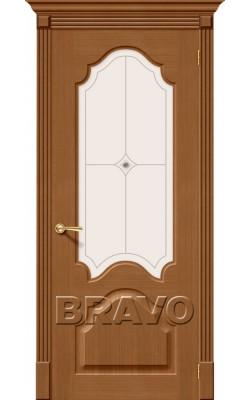 Межкомнатные двери Афина Ф-11 (Орех)