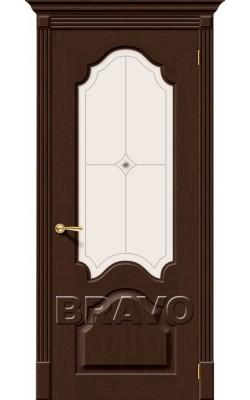 Межкомнатные двери Афина Ф-27 (Венге)