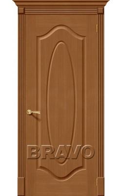 Межкомнатные двери Аура Ф-11 (Орех)