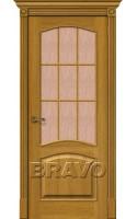 Межкомнатные двери Вуд Классик-33 (Капри-3) Natur Oak