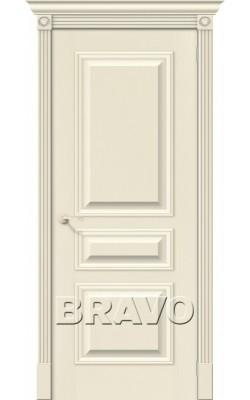 Межкомнатные двери Вуд Классик-14 Ivory
