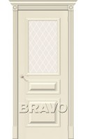 Межкомнатные двери Вуд Классик-15 Ivory