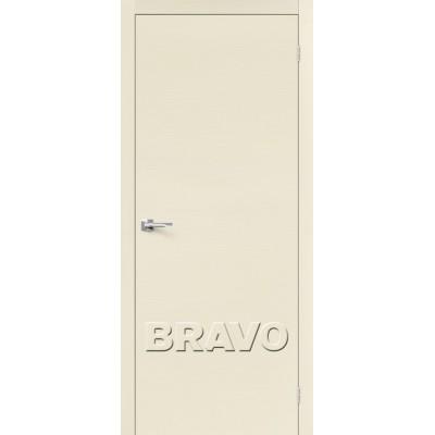 Межкомнатные двери Вуд Флэт-0V1 Ivory H