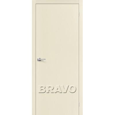 Межкомнатные двери Вуд Флэт-0V1 Ivory V