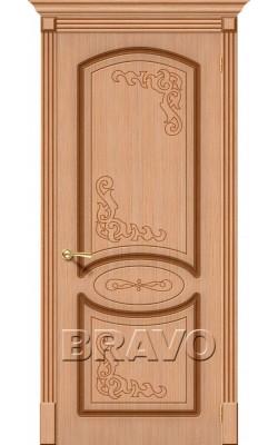Межкомнатные двери Азалия Ф-01 (Дуб)