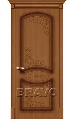 Межкомнатные двери Азалия Ф-11 (Орех)