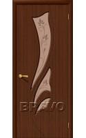 Межкомнатные двери Эксклюзив Ф-17 (Шоколад)