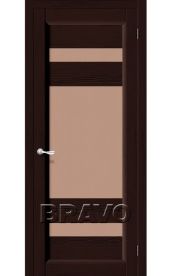 Межкомнатные двери Леон Т-19 (Венге)