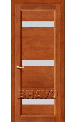 Межкомнатные двери Вега-2 (ПЧО) Т-31 (Темный Орех)