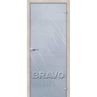 Межкомнатные двери Аврора Белое Сатинато