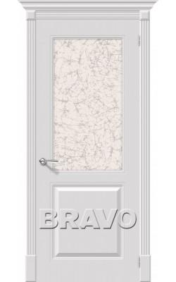 Межкомнатные двери Блюз К-23 (Белый)