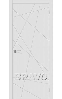 Межкомнатные двери Граффити-5 К-23 (Белый)
