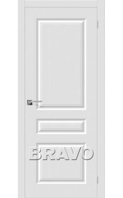 Межкомнатные двери Скинни-14 Whitey