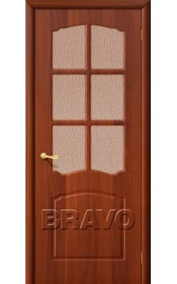 Межкомнатные двери Альфа П-11 (ИталОрех)