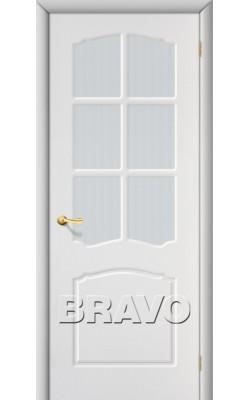 Межкомнатные двери Альфа П-23 (Белый)