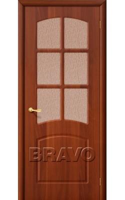 Межкомнатные двери Кэролл П-11 (ИталОрех)