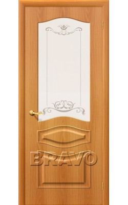 Межкомнатные двери Модена П-12 (МиланОрех)