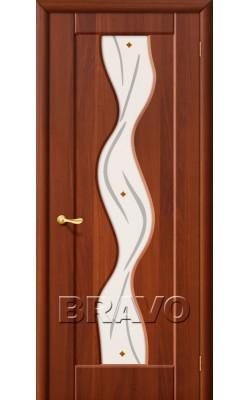 Межкомнатные двери Вираж Плюс П-11 (ИталОрех)