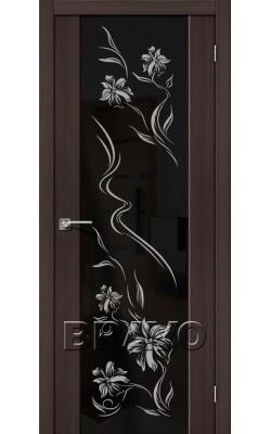 Межкомнатные двери S-13 Print Wenge Veralinga