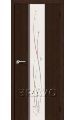 Межкомнатные двери Глейс-2 Twig 3D Wenge