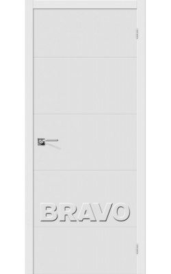 Межкомнатные двери Граффити-2 П-23 (Белый)