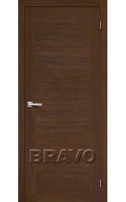 Межкомнатные двери Вуд Флэт-1V1 Golden Oak