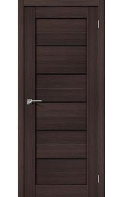 Межкомнатные двери Порта-22 Wenge Veralinga/Black Star