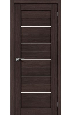 Межкомнатные двери Порта-22 Wenge Veralinga/Magic Fog