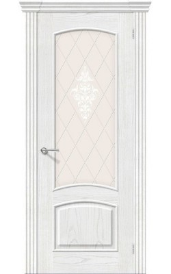 Межкомнатные двери Амальфи Т-23 (Жемчуг)