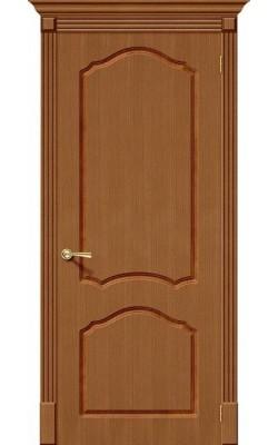 Межкомнатные двери Каролина Ф-11 (Орех)