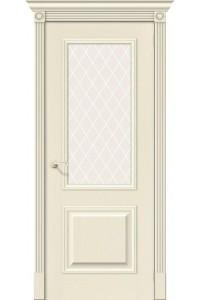 Межкомнатные двери Вуд Классик-13 (Гранд) Ivory