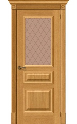Межкомнатные двери Вуд Классик-15.1  Natur Oak