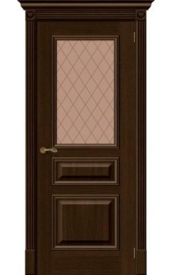 Межкомнатные двери Вуд Классик-15.1  Golden Oak