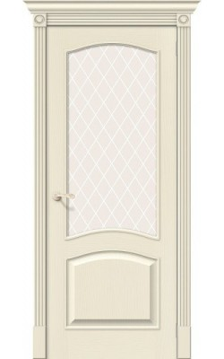 Межкомнатные двери Вуд Классик-33 Ivory