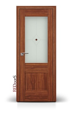 Межкомнатные двери 2X Орех Амари