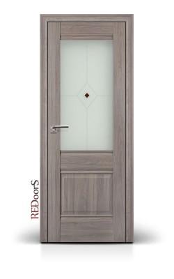 Межкомнатные двери 2X Орех Пекан
