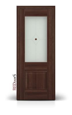 Межкомнатные двери 2X Орех Сиена