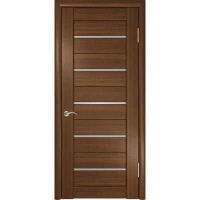 Межкомнатные двери Лу-22 Тёмный орех