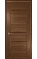 Межкомнатные двери Лу-21 Тёмный орех